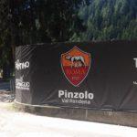Banner Centro Sportivo Pinzolo in Occazione del Ritiro Roma Calcio