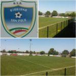 Linee Tracciate Sul Campo Calcio di Bibbiano Con Vernice ITALSPORT